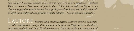 Marx a Soho di Howard Zinn lettura di Lamberto Consani