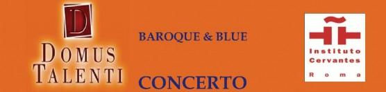 Concerto BAROQUE e BLUE