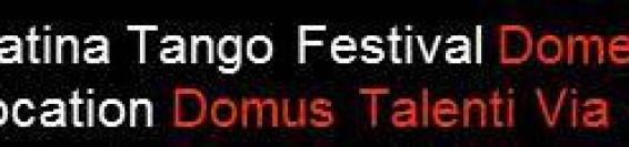 Milonga di presentazione Latina Tango Festival