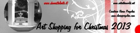 ART SHOPPING FOR CHRISTMAS 2013