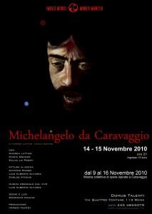 locandina caravaggio domus 14 15 novembre